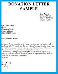sample letter asking for donation letter asking for donations image
