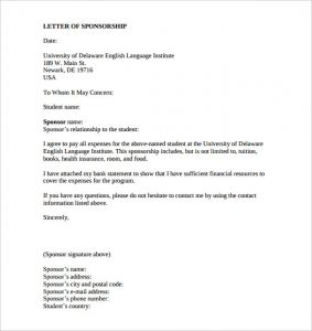 sample letter asking for donations for school sponsorship letter template for education download printable