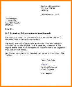sample letter of employement semi formal letter format