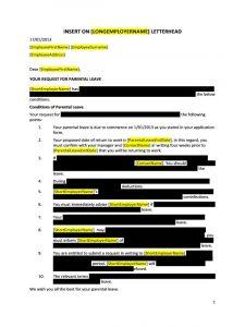 sample letter of employment doc