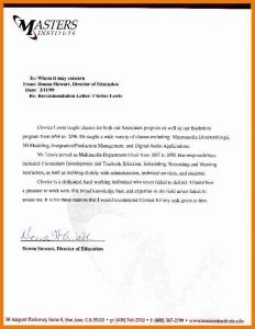 sample letter of recommendation for graduate school graduate school letter of recommendation sample sample recommendation letter graduate school
