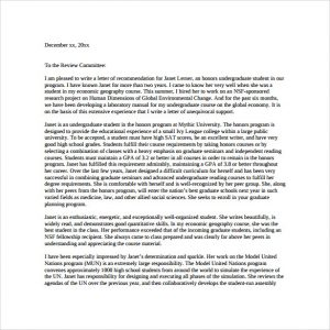 sample letter of recommendation for graduate school sample letter of recommendation for graduate school pdf