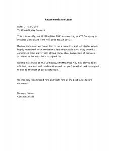 sample letter of recommendation sample recommendation letter for job vw5tumwg