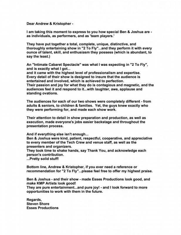 sample letters of recommendation for college