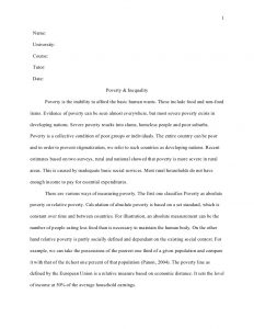 sample literature review for research paper harvard style term paper poverty and inequality