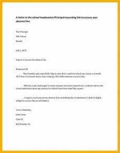 sample loan agreement application to headmaster sample a letter to the school headmaster for excusing absence fine cb