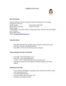 sample loan agreement cv for payment accounting general accounting cost accounting