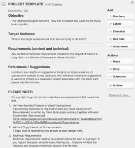 sample marketing proposal screen shot at pm