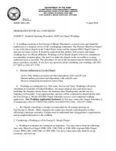 sample memo format army sop template bespoke wellness inside army sop template