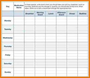 sample minute of meeting medication chart template abebebfcaecff