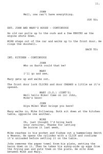sample movie script difference between script and screenplay screenplay sample