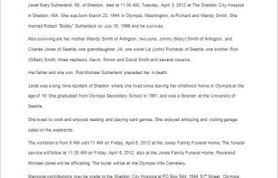 sample obituary for mother obituary template example for years old mother