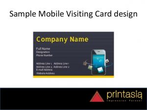sample of business letterhead order mobile shop visiting cards online