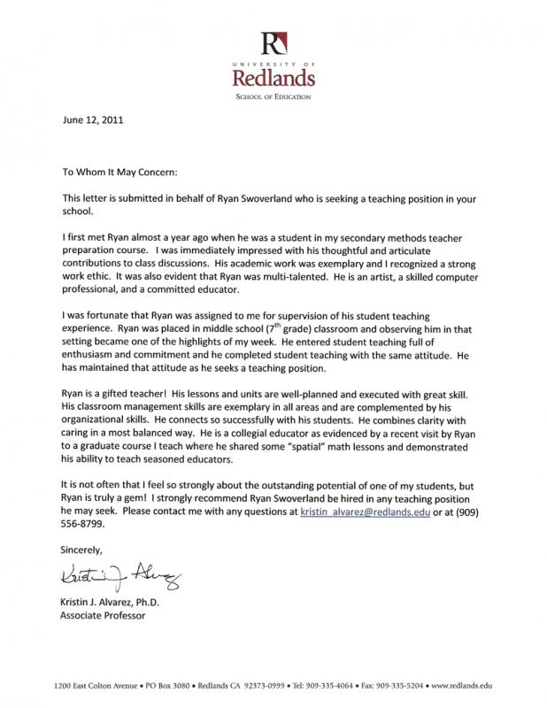 sample of business letters