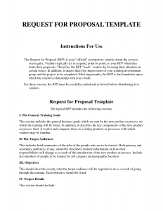 sample order form request for proposal template exwykt