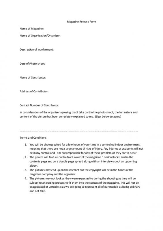 sample photography contract