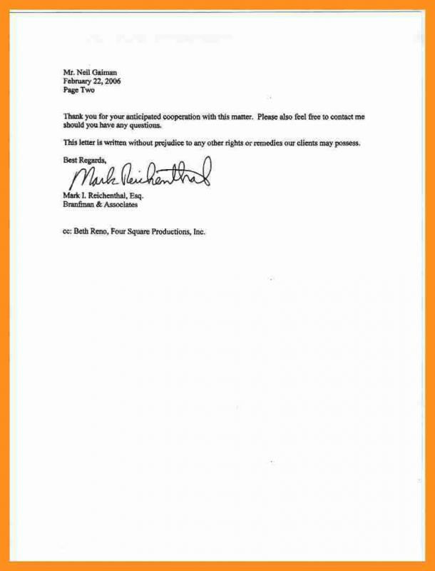 sample power of attorney letter