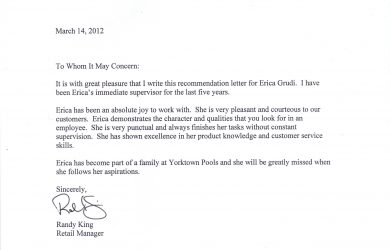 sample recommendation letters recommendation letter sample sa