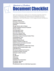 sample registration forms document checklist cover page x