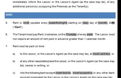 sample residential lease agreement act tenancy agreement sample