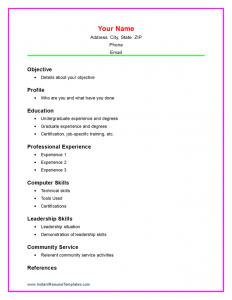 sample resume for high school student job resume examples for highschool students resume templates for