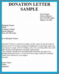 sample sponsorship letter for donations donation request letter template letter asking for donations image