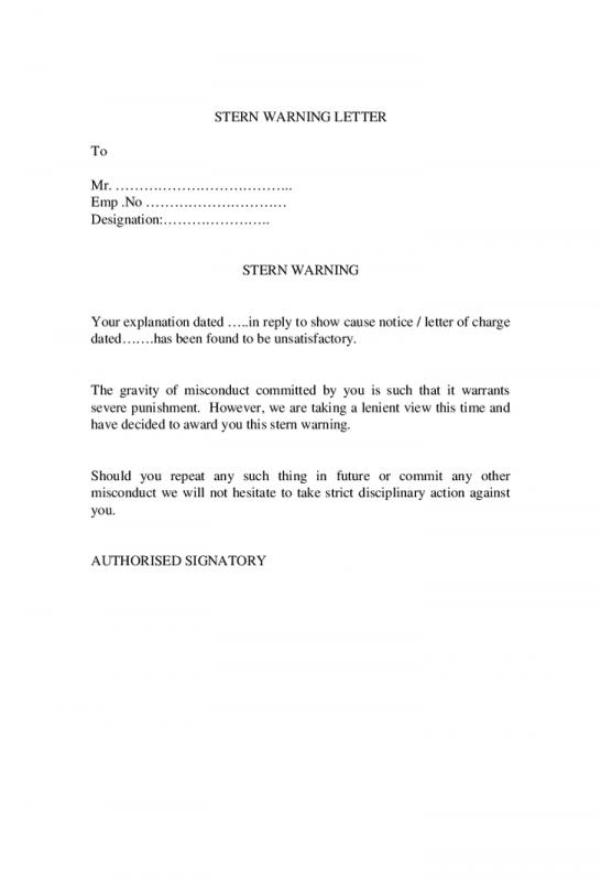 sample termination letter for cause