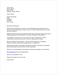 sample thank you letter for donation of goods letter of intent template