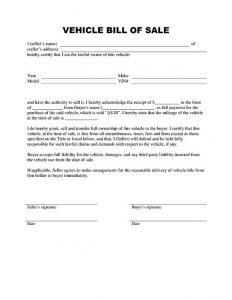 sample vehicle bill of sale bill of sale auto vehicle lu