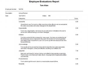 samples employee evaluations employee evaluations