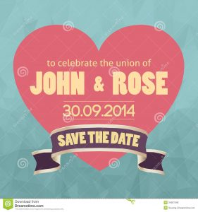 save the date templates free download save date template vector illustration