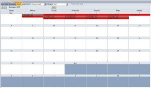 schedule template pdf month