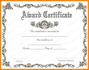 scholarship certificates templates award certificate templates word award
