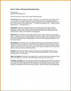 scholarship essay format how to write a scholarship
