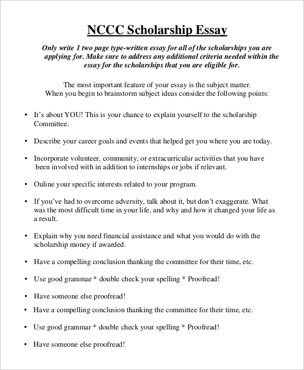 High School Essay Sample  English Composition Essay Examples also Thesis Example Essay Scholarship Essay College Scholarship Application Template  Essay Proposal Example