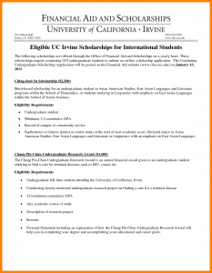 scholarship essays examples financial need letter example for scholarship