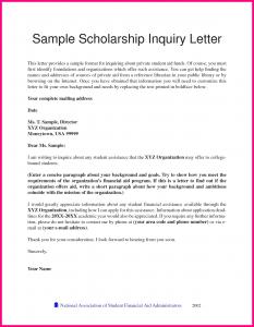 scholarship letter sample recommendation for student scholarship
