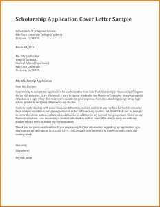 scholarships certificate template letter for scholarship request scholarship application cover letter sample