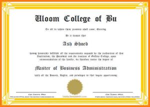 scholarships certificate template mba certificate sample download sample business school certificate template create online