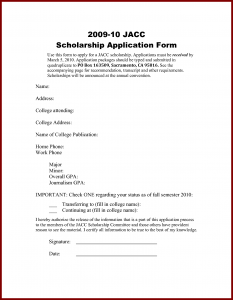 scholarships letters samples examples scholarship application letters