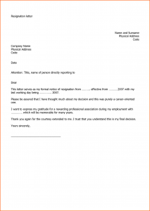 school newspaper template resignation letter sample