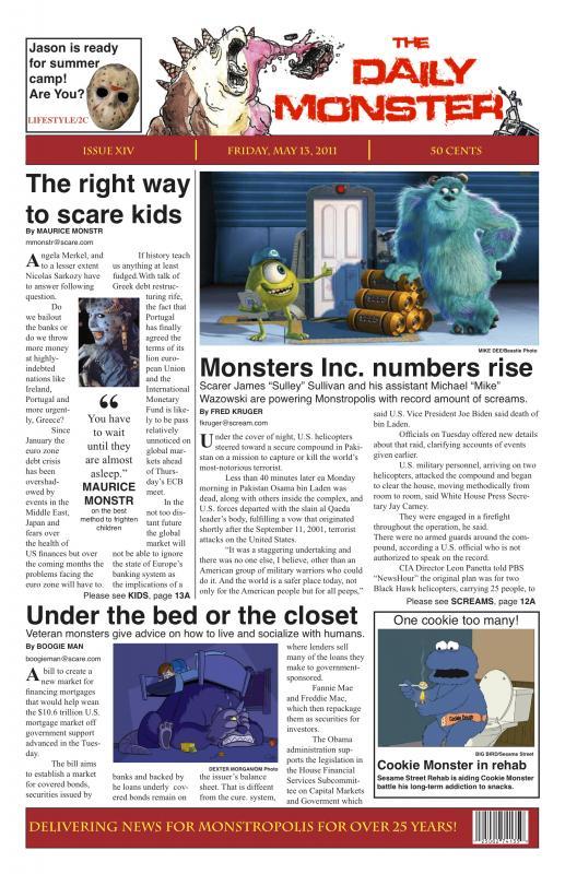 school newspaper template
