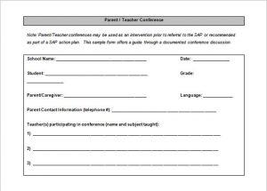 school scheduling templates free download parent teacher conference schedule template