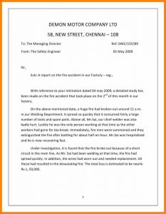science lab report template short report example report on the fire accident cb