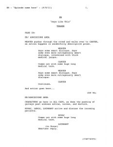 screenplay format template wd
