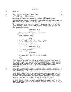 screenplay format template movie script template rmdgfd