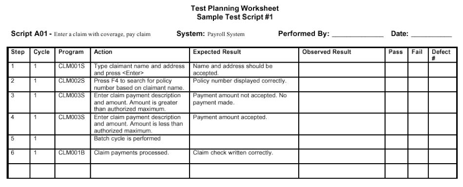 script format example