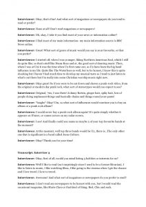script format example transcripts of the interview pdf
