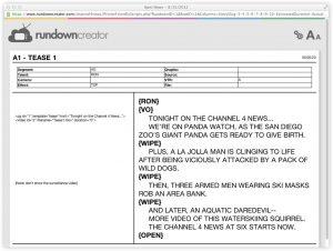 script format template printer friendly script x