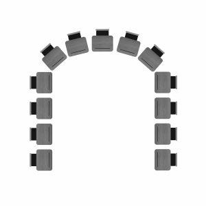 seating chart template word horseshoe